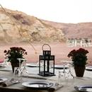 Outdoor feasts in the desert