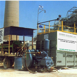 "Mobile unit for treating wastewater – ""HANAH"""