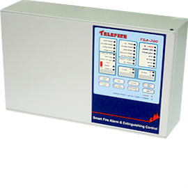 Conventional dual-zone fire alarm system TSA-200
